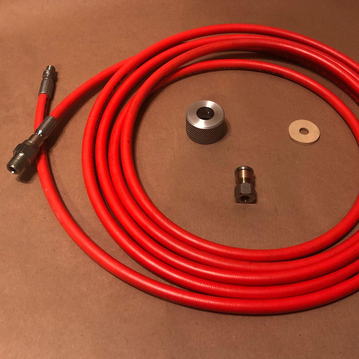 tank flush accessory kit